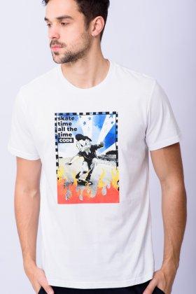Imagem - Camiseta Masculina Code Manga Curta Pato Donald