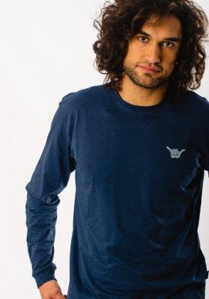 Imagem - Camiseta Masculina Hang Loose Manga Longa
