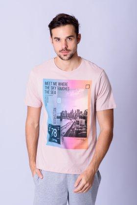Imagem - Camiseta Masculina Mc Estamp Suburban