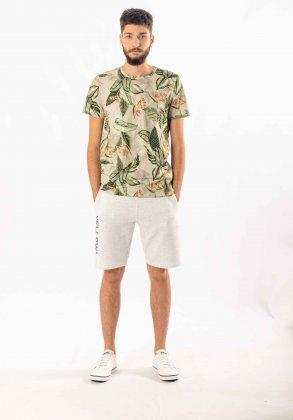 Imagem - Camiseta Masculina Rovitex Manga Curta Estampada