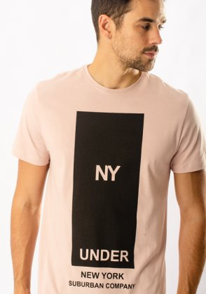 Imagem - Camiseta Masculina Suburban Manga Curta Estampada