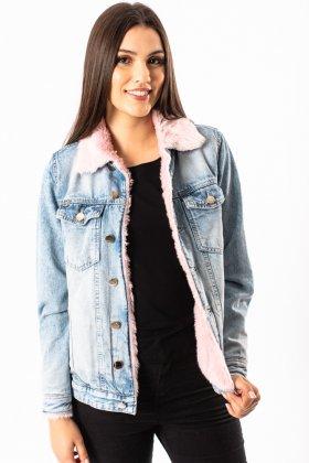 Imagem - Jaqueta Feminina Visual Jeans Forrada