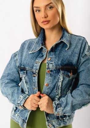 Imagem - Jaqueta Feminina Zune Jeans Cropped