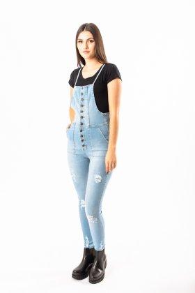 Imagem - Macacão Feminino Super Sul Jeans