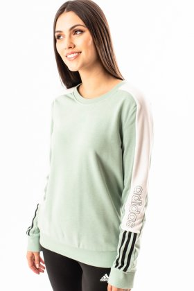 Imagem - Moletom Feminino Adidas Careca Color
