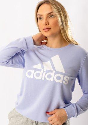 Imagem - Moletom Feminino Adidas Careca Essentials