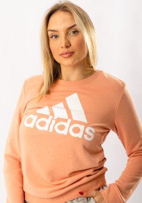 Imagem - Moletom Feminino Careca Essentials Adidas
