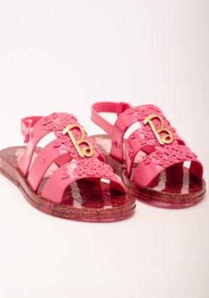 Imagem - Sandalia Infantil Feminina Grendene Barbie Spa