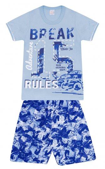 Conjunto Camiseta Manga Curta Menino