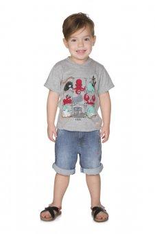 Camiseta Alekids Manga Curta