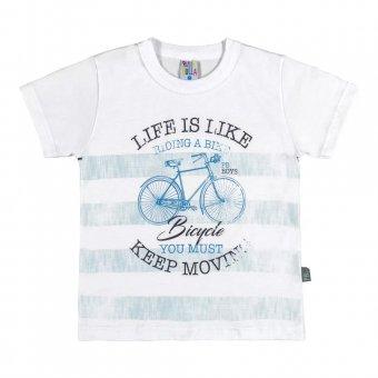 Camiseta Manga Curta Menino