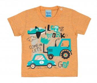 Conjunto Camiseta Com Short Menino