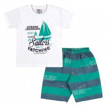 Imagem - Conjunto Camiseta com Short Menino