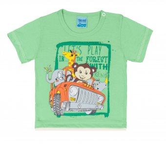 Conjunto Camiseta Com Short Tactel
