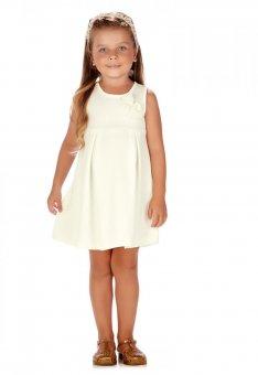 Vestido Branco Com Perolas