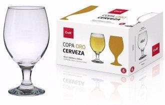 Imagem - Copo Oro Cerveja 6 unidades  - 1140
