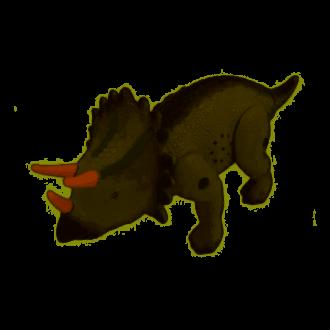 Imagem - Dinossauro Triceratops Eletrico cód: 6993