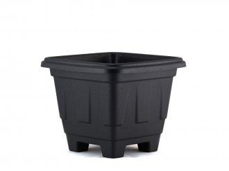 Imagem - Vaso quadrado Preto Nº 0 plasmarc