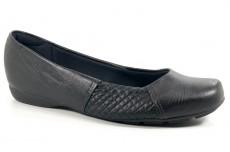 Imagem - Sapato Modare Preto com Salto Baixo - 039410