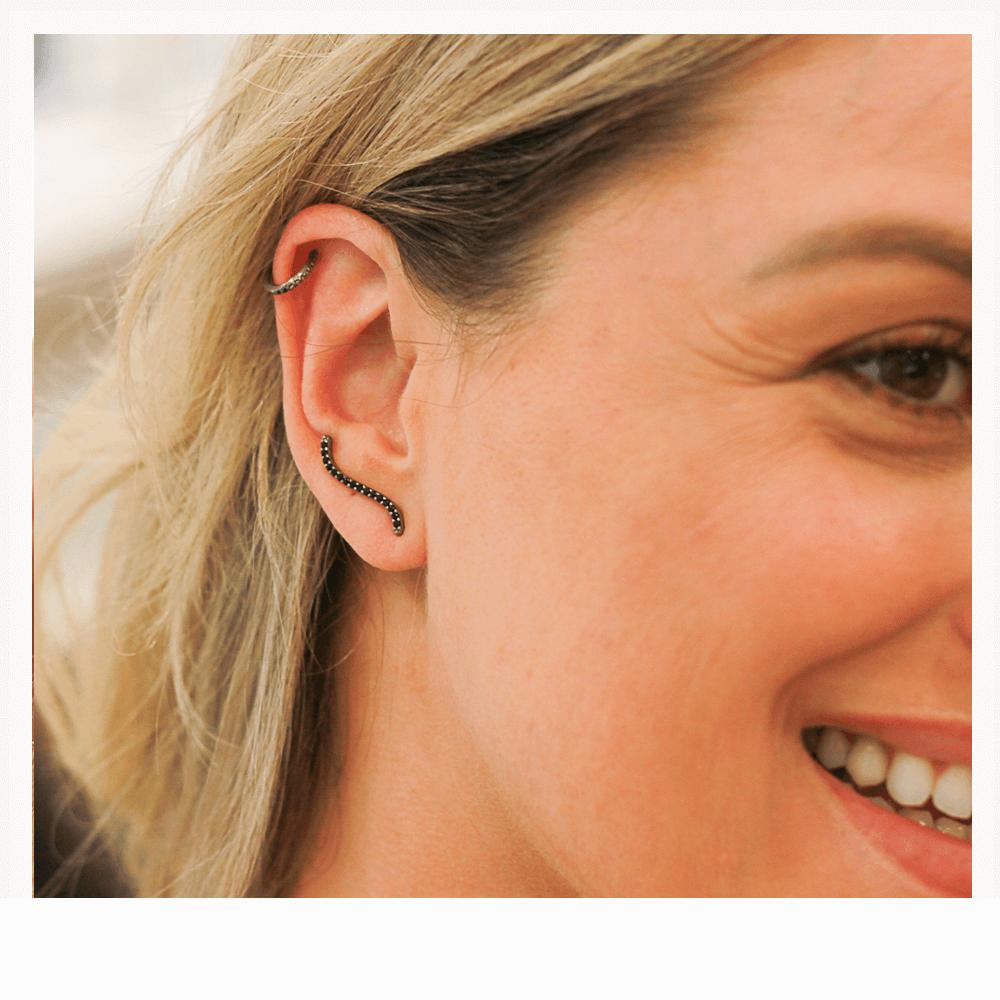 Ear cuff moderno