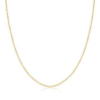 Imagem - Corrente Veneziana 45 cm em Ouro 18K