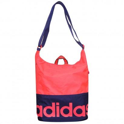 f2cad3398650b0 Bolsa Adidas Lin Per W AB0697 - Pink/Marinho - Chuteira Nike, Adidas.  Sandalias Femininas. Sandy Calçados