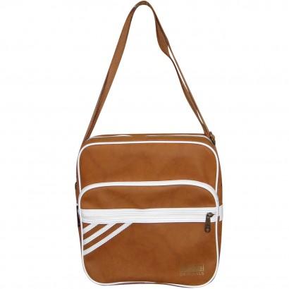 6dee0e0a84 Bolsa Adidas Sir Bag Suede M30504 - Marrom Branco - Chuteira Nike ...