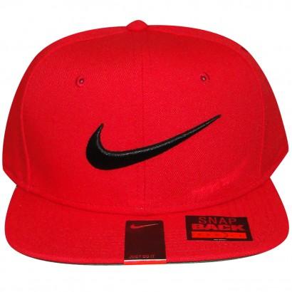 Bone Nike 639534 639534-657 - Vermelho Preto - Chuteira Nike fcfb4ee8ea847