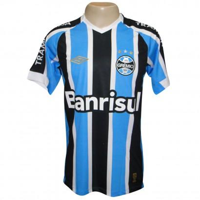 Camisa Gremio Umbro 2015 600174 - Tricolor - Chuteira Nike 5dd41d7d619df