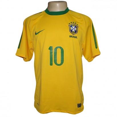CAMISA NIKE BRASIL 2010 REF.369277 N.10