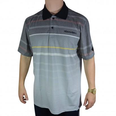 Camisa Polo Vida Marinha 2238 CPT2238 P2 - Grafite Cinza - Chuteira Nike 2a9ec5eb71b4e