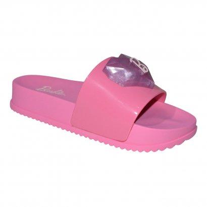 Chinelo Barbie Slide Love Led 21635 Juvenil