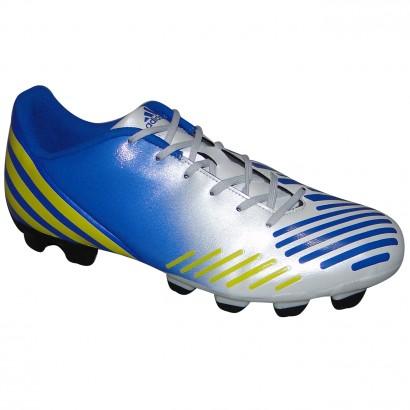 Chuteira Adidas Predito Lz G64956 - Azul Branco Amarelo - Chuteira Nike c2a3c4a7a2d53