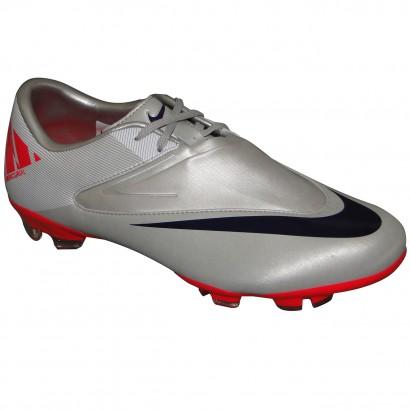 4bc16b64d274a Chuteira Nike Mercurial Glide Ii 9105 - PRATA/MARINHO/PINK - Chuteira Nike,  Adidas. Sandalias Femininas. Sandy Calçados