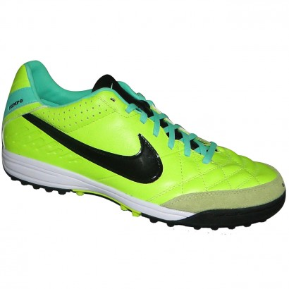 Chuteira Society Nike Tiempo Mystic Iv 454314 703 - Limão Preto - Chuteira  Nike 616915b6ba25f