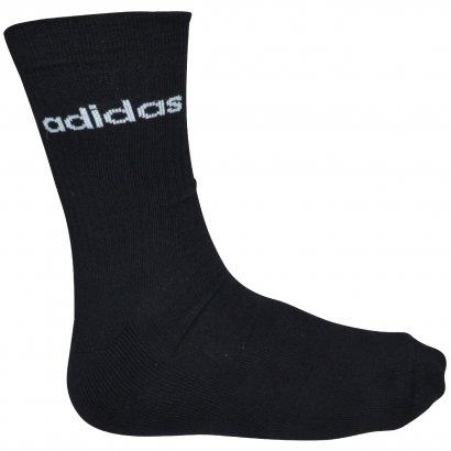 Meia Adidas BS Crew Kit 3 Pares