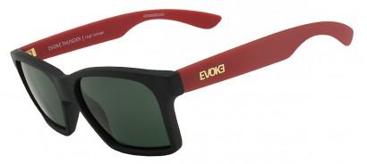 703ecddeb7996 Oculos Evoke Thunder A09 - Black Temple  Red Gold - Chuteira Nike ...