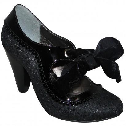 Sapato Cravo E Canela Ref.622 Rochelle
