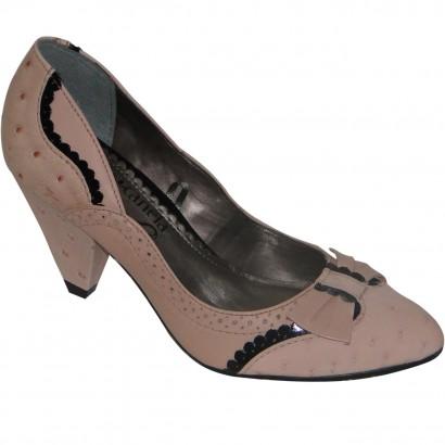 Sapato Cravo E Canela Ref.664 Fetiche