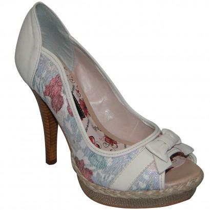 Sapato Cravo E Canela Ref.69502