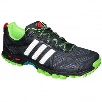 6f07cf3e5f8 Tenis Adidas Kanadia 6 M17442 - Preto Verde - Chuteira Nike