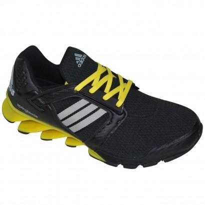 new concept 69213 06a4c Tenis Adidas Springblade E-Force AQ4527 - Preto Amarelo - Chuteira Nike,  Adidas. Sandalias Femininas. Sandy Calçados