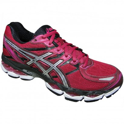 59b33f1a47 Tenis Asics Gel-Evate 3 T566N 2193 - Cereja/Prata/Preto - Chuteira Nike,  Adidas. Sandalias Femininas. Sandy Calçados
