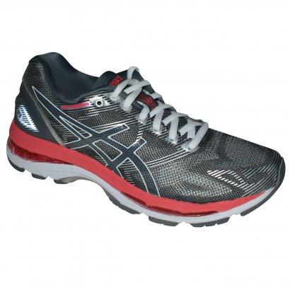 Authentic Feet  48780717005 Tenis Asics Gel-nimbus 19 T750N 9719 - Grafite  prata coral - Chuteira Nike ... 090d60a8144f2