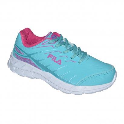 d76dc1216a518 Tenis Fila Axis Juvenil 641468 - Aqua Rosa - Chuteira Nike