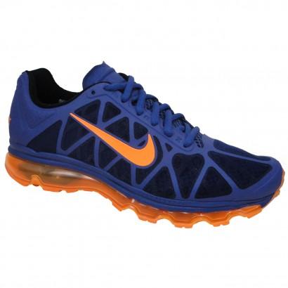 176aa9eb67 TENIS NIKE AIR MAX 2011 + 684530 402 - Marinho Laranja - Chuteira Nike