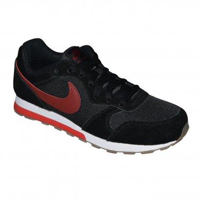 81a7096e39a Tenis Nike Md Runner 2 Juvenil 807316 010 - Preto bordô - Chuteira Nike