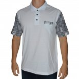 Camisa Polo Code Flowers
