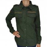 Camisa Vida Marinha Ctf3016 Feminina