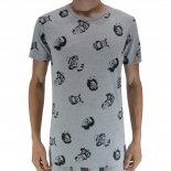 Camiseta Drazzo Estampada